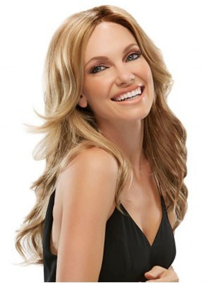 Striking Lace Front Synthetic Wavy Wig