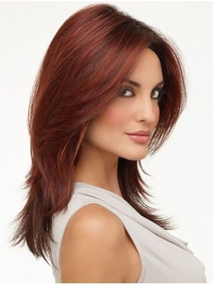 Impressive Synthetic Lace Front Straight Wig