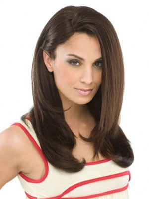 Stylish Synthetic Lace Front Straight Wig