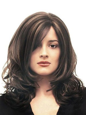 Stylish Synthetic Wavy Capless Wig
