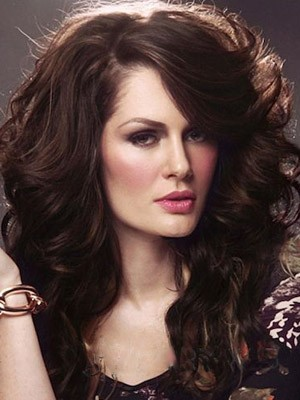 Elegant Synthetic Long Wavy Lace Front Wig