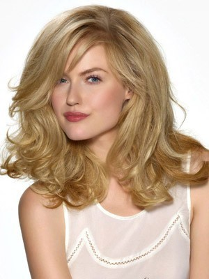 Fashionable Synthetic Long Lace Front Wig