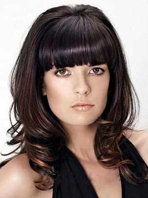 Admirable Synthetic Wavy Capless Wig