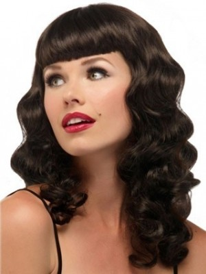 Nice Long Loose Wave Capless Synthetic Wig