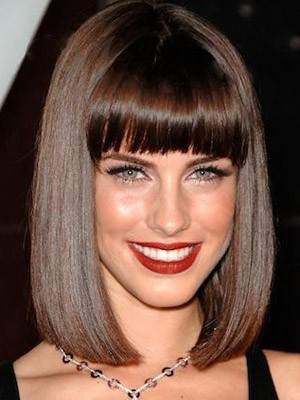 Striking Synthetic Straight Capless Wig