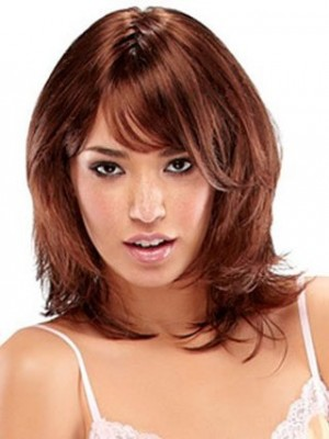 Cute Length Capless Synthetic Wig