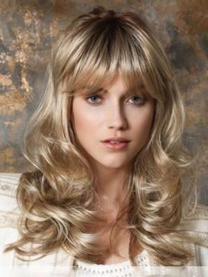 Stylish Synthetic Wavy Capless Wig