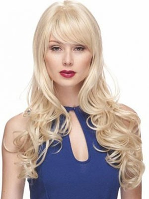 New Style Synthetic Wavy Capless Wig