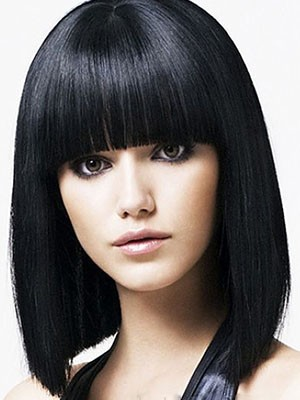 Chic Capless Synthetic Straight Wig