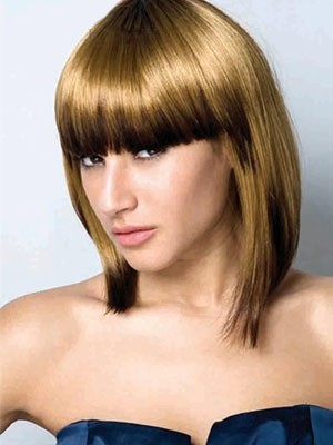 Polished Synthetic Straight Capless Wig