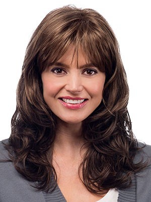 Magnificent Synthetic Wavy Capless Wig