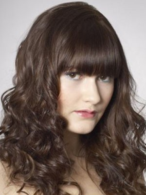 Classic Synthetic Wavy Capless Wig