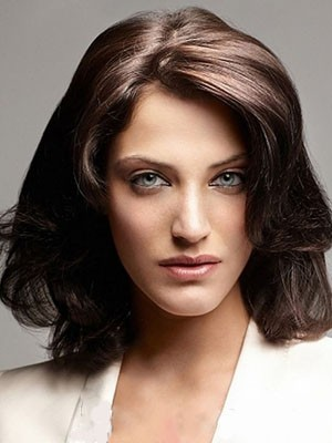 Good Looking Synthetic Wavy Lace Front Wig