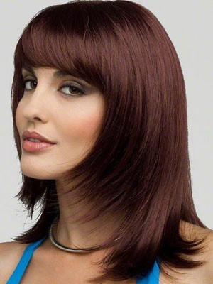Classic Synthetic Straight Capless Wig