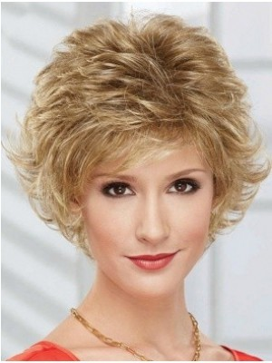 Classic Synthetic Capless Wavy Wig
