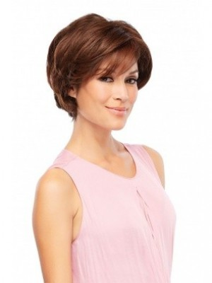 Polished Synthetic Wavy Capless Wig