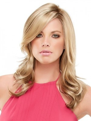 Marvelous Wavy Layers Lace Front Synthetic Wig