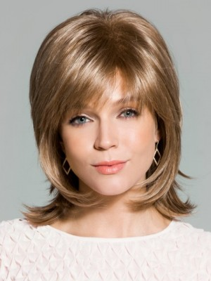 Elegant Synthetic Straight Capless Wig
