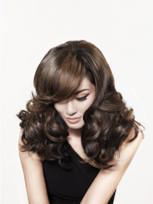Cute Synthetic Wavy Capless Wig