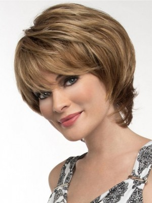 New Style Synthetic Capless Straight Wig
