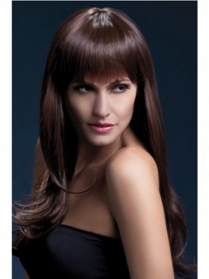 Nice-looking Synthetic Straight Capless Wig